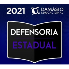 DEFENSORIA PÚBLICA ESTADUAL - DEFENSOR - DPE - DAMÁSIO 2021